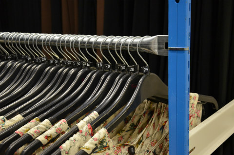 New Hanging Rail System For Clothes Storage By Ezr Shelving
