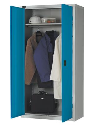 Steel Coat Cabinet