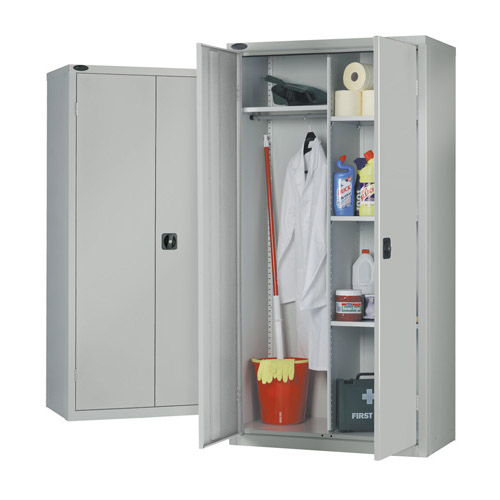 Janitor cabinet industrial storage cupboards