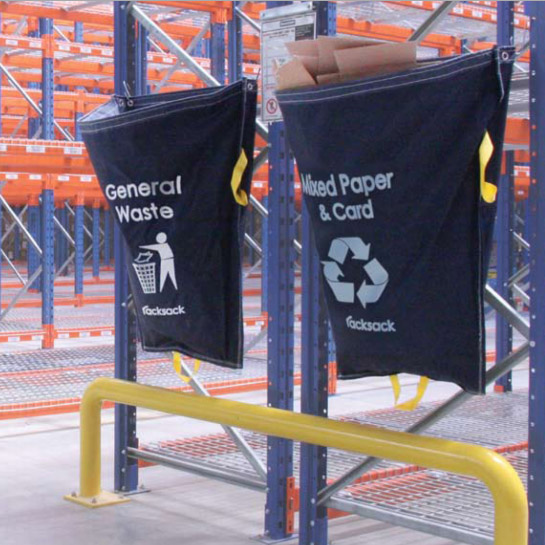 Racksack Hanging Waste Sack Warehouse Recycling Container