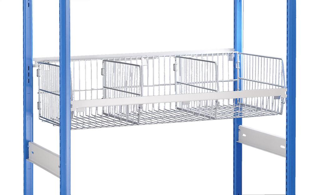 modular wire baskets for the trimline shelving system. Black Bedroom Furniture Sets. Home Design Ideas