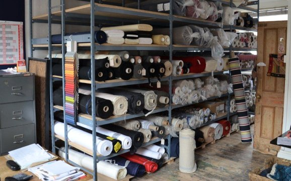 Fabric Roll Storage For Stockrooms