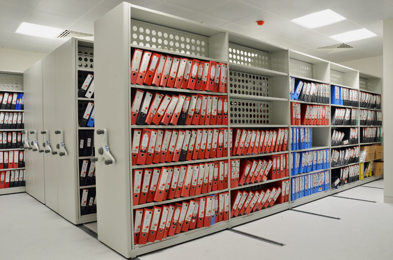 Mobile Shelving For Offices