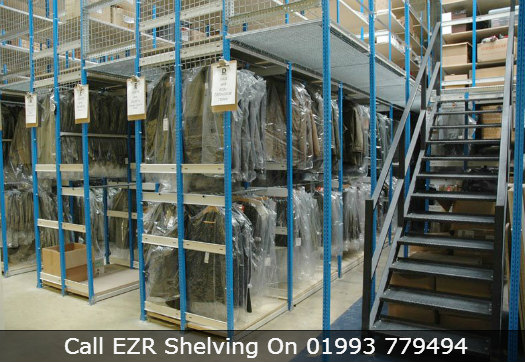 Example of a Mezzanine Shelving System