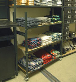 Movable Stock Trolleys For Clothing