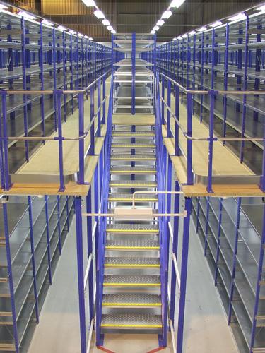 Mezzanine Storage Solutions 2 Tier Shelving Amp Raised