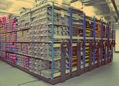 Commercial Racking Solutions From EZR Shelving