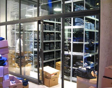 Stock Racking For Jeans Retailer
