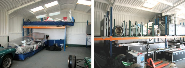 Formula 1 Car Storage Racking