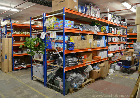 Heavy Duty Stockroom Shelving