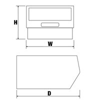 Guide to bin dimensions H x W x D