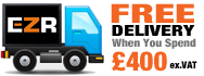 Free delivery when you spend £400 (Terms Apply)