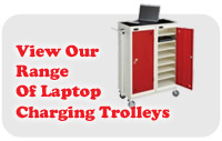 View our large range of laptop charging trolleys