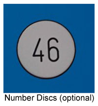 Optional Extra Number Discs