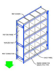 Pigeon Hole Assembly Instructions