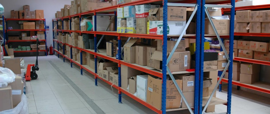 Longspan Shelving In A Retail Warehouse