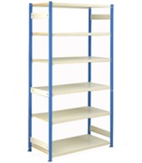 Trimline Boltless Shelving Unit Assembled