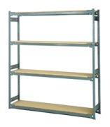 Type 1 Boltless Shelving Unit Assembled