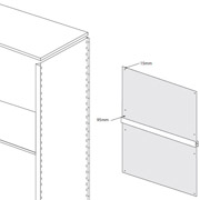 Ikon Delta Edge Shelving Instructions