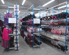 Lingerie Storage Racks