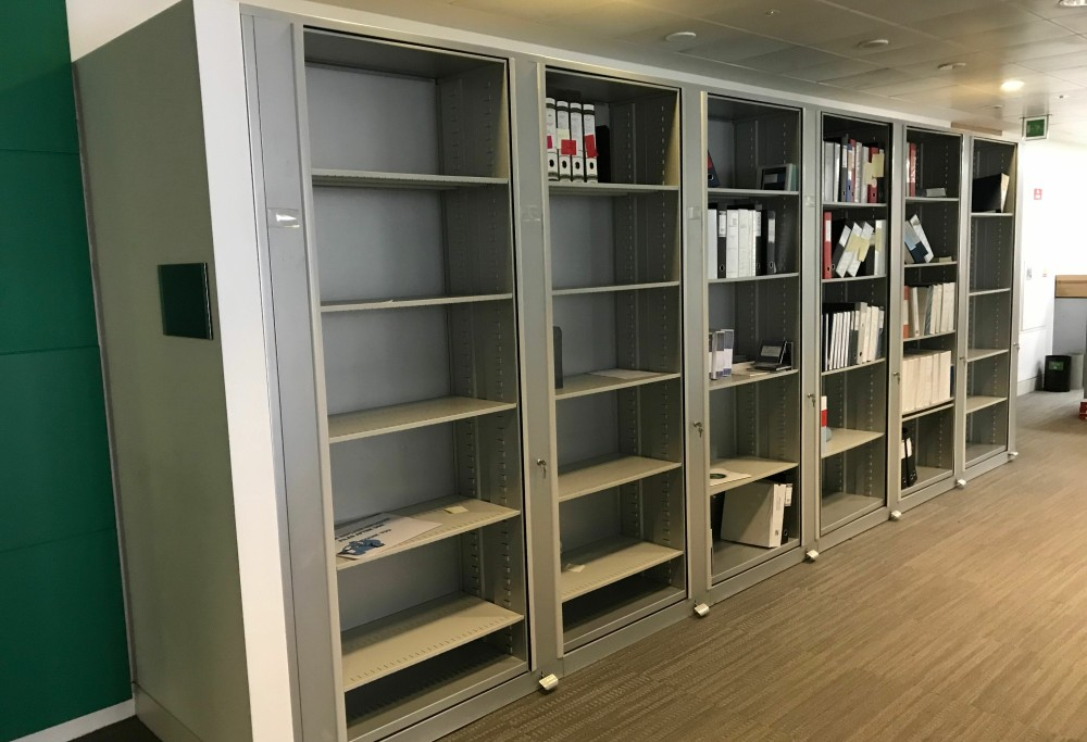 Used Office Shelving