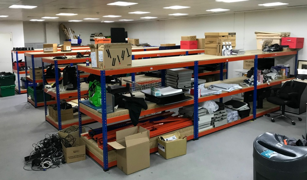 Used Racking Workbenches