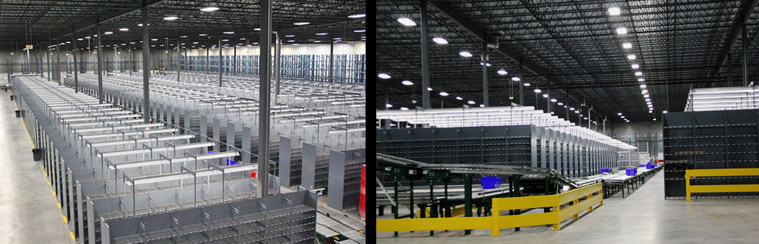Large Scale Warehouse Shelving