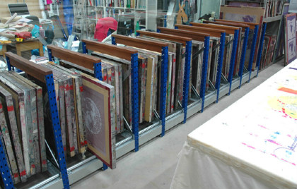 Storage Racks For Artwork