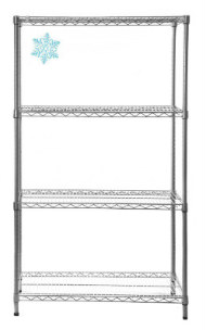 New Cold Store Wire Shelving Units