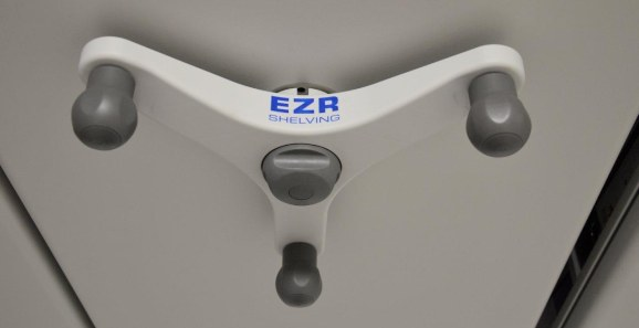 EZR Mobile Shelving Handwheels
