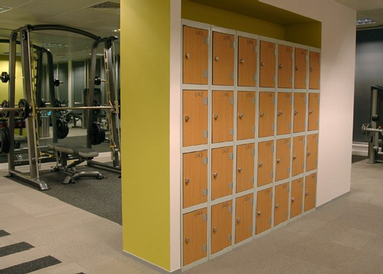 Gym Storage Lockers