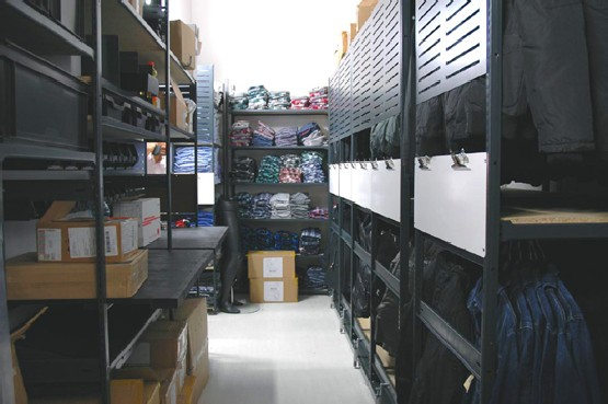 Complete retail stockroom solution