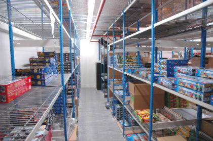 2 Tier Stockroom Storage