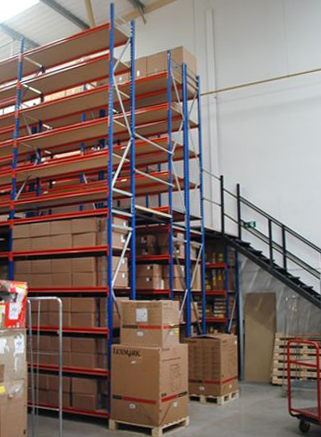 Longspan Two-Tier Shelving