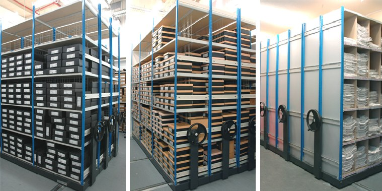 Stockroom Mobile Shelving System