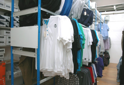 Garment Racking - Retail Storage