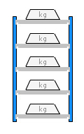 Racking Capacity Diagram