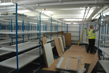 Stockroom Installation At Regent Street