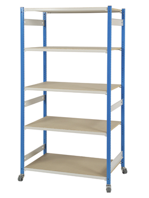 Stockroom Shelving Trolley