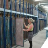 Art Storage Solution at Central St Martin's College