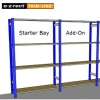 Shelving Guide: Starter & Add-On Bays