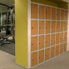 Trespa Gym Locker Installation