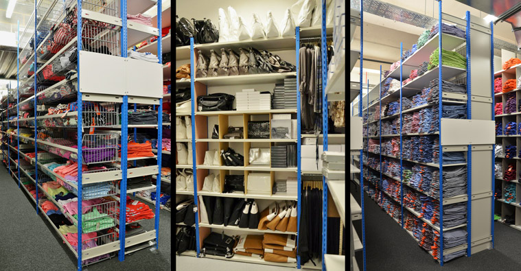 Stockroom Shelving Solutions For Trinity Leeds Retailers