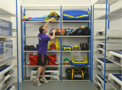 Wellsway School Wire Shelving Solution