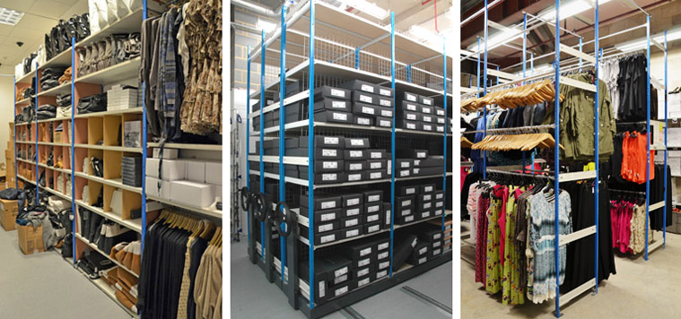 Retail stockrooms examples
