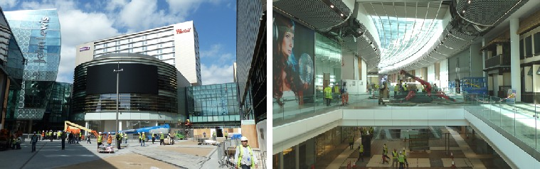 Construction Work At Westfield Stratford
