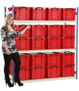 48 Litre Really Useful Box Shelving - 20 Boxes