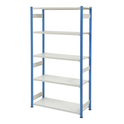 Trimline Storage Shelving 2135mm High - Melamine Shelves
