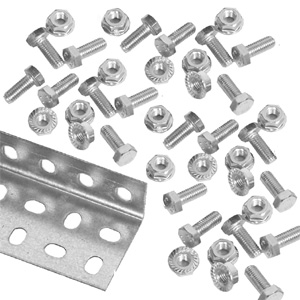 M8 Nuts & Bolts - Pack of 100