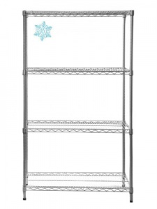 Cold Store Wire Shelving - H1625mm
